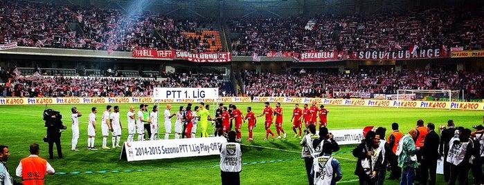Başakşehir Fatih Terim Stadyumu is one of İstanbul Stadyum ve Futbol Sahaları.