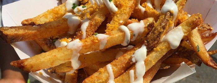 What the Fries - Charlotte is one of Places to go to.