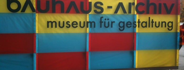 Bauhaus-Archiv is one of Berlin!.
