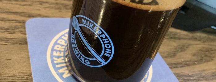 Mikerphone Brewery & Tap Room is one of Tempat yang Disukai Cole.