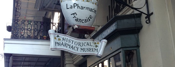 New Orleans Pharmacy Museum is one of Historian 2.