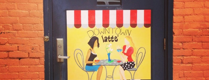 Downtown Latté is one of Free WiFi.