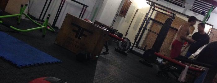 Spartan Gym is one of สถานที่ที่ Veronika ถูกใจ.