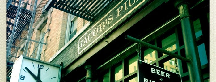 Jacob's Pickles is one of New York nightlife.