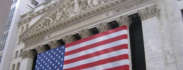 New York Stock Exchange is one of Manhattan Favorites.