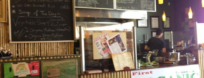 Green Corner Cafe is one of Organic LA.