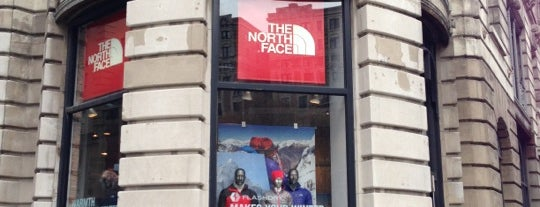 The North Face is one of NYC.