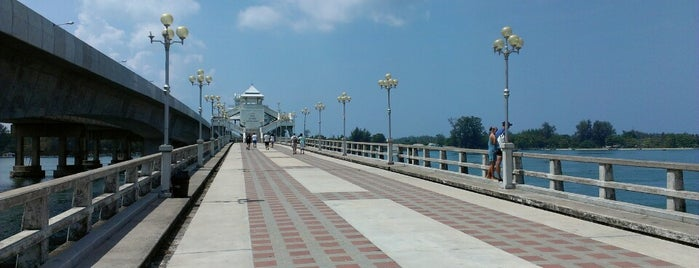 Sarasin Bridge is one of Lieux qui ont plu à Taygun.
