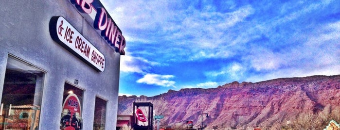 Moab Diner is one of 🚡 Chris'in Kaydettiği Mekanlar.