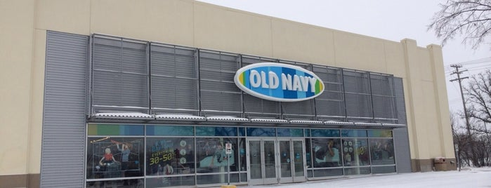 Old Navy is one of Winnipeg.