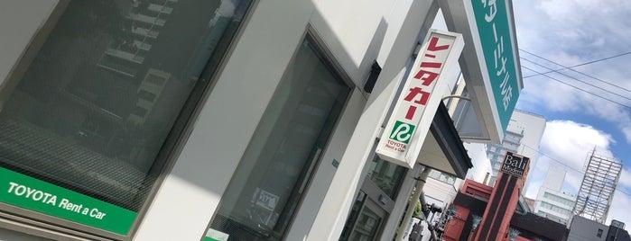 トヨタレンタリース大阪 なんばターミナル店 is one of Japan Point of interest.