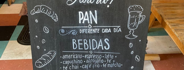 Pan de Nube is one of Café / Té & Pan.