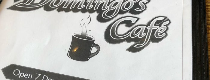 Domingo's Cafe is one of G-Town.