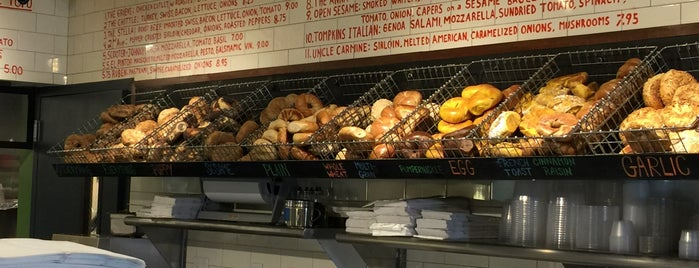 Tompkins Square Bagels is one of David Milberg NY.