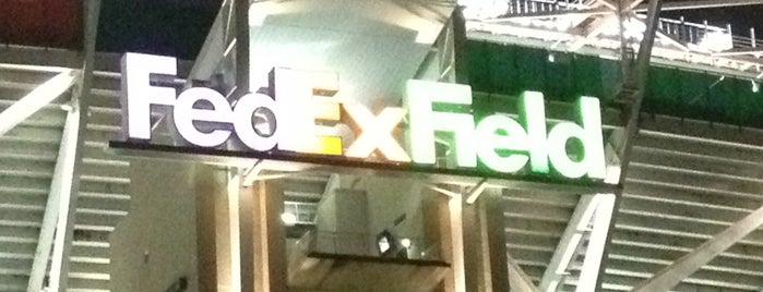 FedExField is one of NFL Football Stadium Tour.