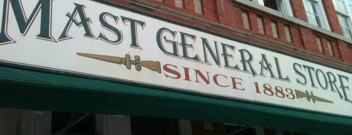 Mast General Store is one of Asheville.
