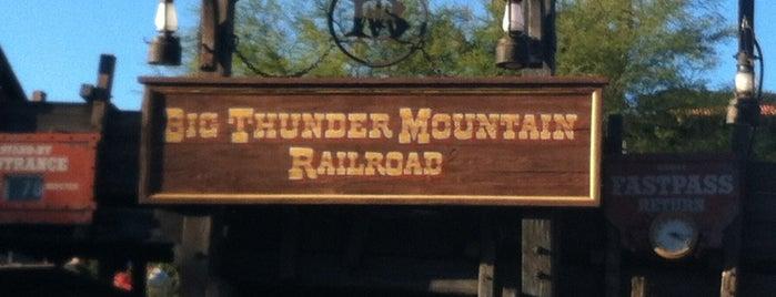 Big Thunder Mountain Railroad is one of Walt Disney World.