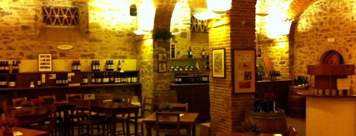 Enoteca Falorni is one of Tizianaさんの保存済みスポット.