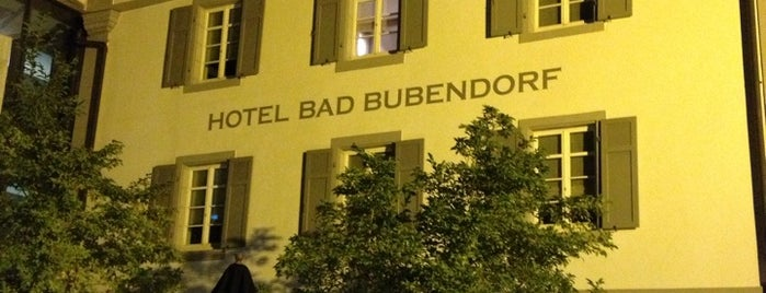 Hotel Bad Bubendorf is one of Moog's Liked Places.