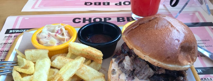 Chop Barbeque is one of alsancak.