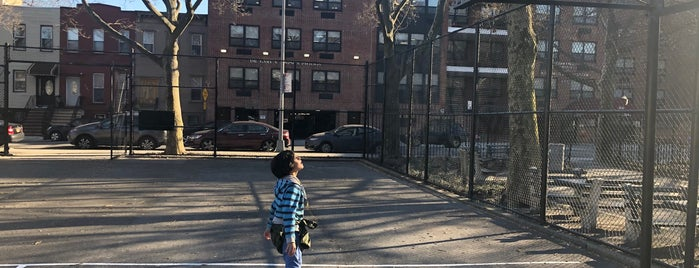 Hattie Carthan Playground is one of Where to play ball — Public Courts.