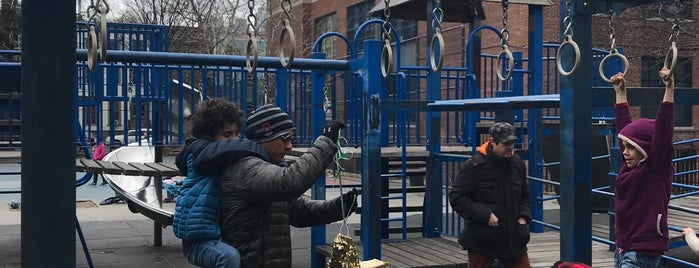 Albert J. Parham Playground is one of Where to play ball — Public Courts.