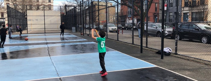 John Hancock Playground is one of Where to play ball — Public Courts.