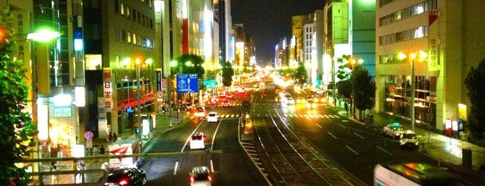 幟町南横断歩道橋 is one of Locais curtidos por 高井.