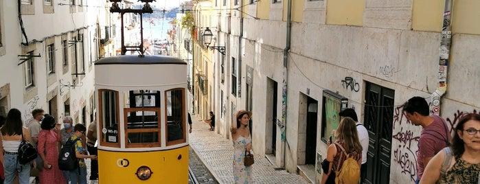 Ascensor da Bica is one of Lisbon.
