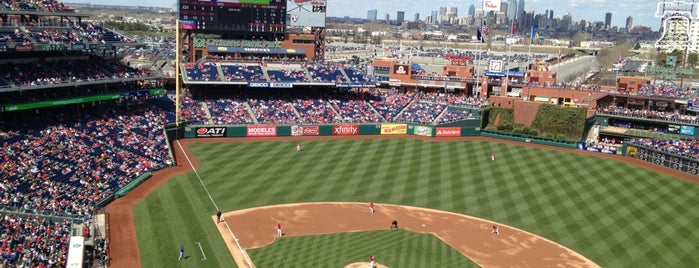 Citizens Bank Park is one of MLB parks.