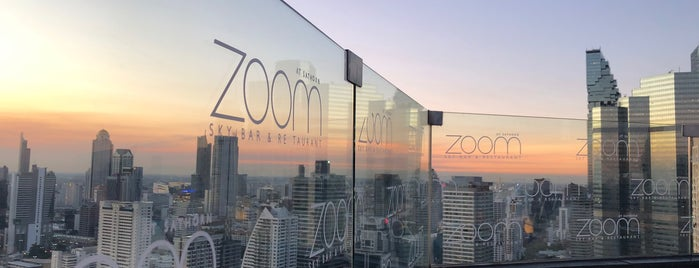Zoom At Sathorn Sky Bar And Resturant is one of Bangkok - Rooftop Bars.