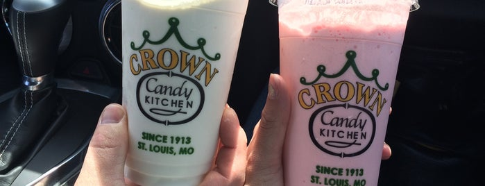 Crown Candy Kitchen is one of Kadee'nin Beğendiği Mekanlar.