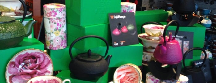 T2 Tea is one of London.