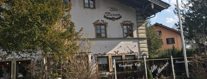 Alte Meierei is one of Food.