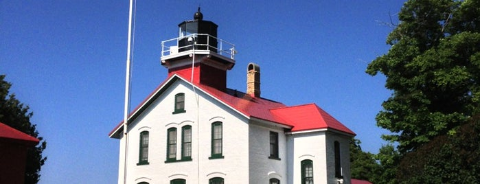 Grand Traverse Lighthouse is one of Tempat yang Disukai Wayne.