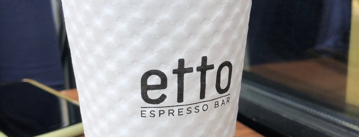 Etto Espresso Bar is one of NYC - Coffee, Sweets, Brunch.