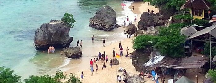 Padang-Padang Beach is one of Bali.