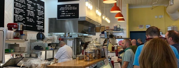 Lucky's Delicatessen is one of RDU.