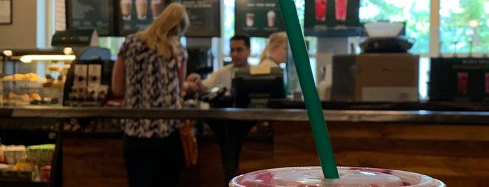 Starbucks is one of Tempat yang Disukai Maria.