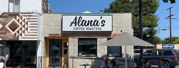Alana's Coffee Roasters is one of LA.