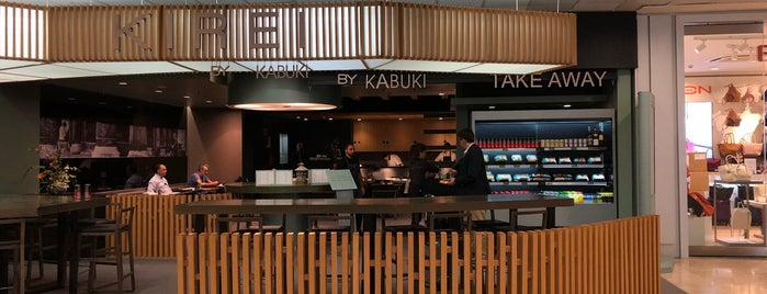 Kirei by Kabuki is one of madrid. Beber y comer.
