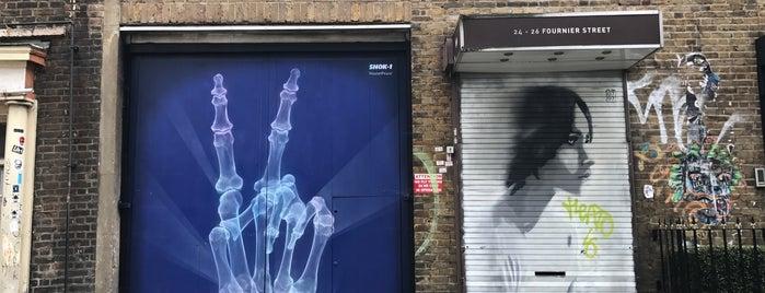 Shoreditch Street Art Stroll is one of Posti che sono piaciuti a David.
