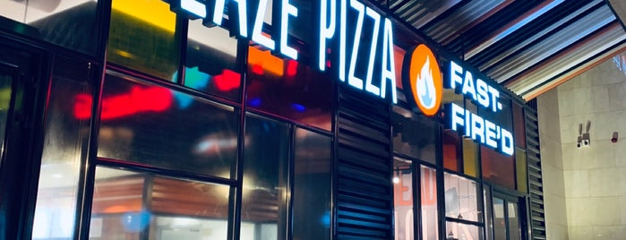 Blaze Pizza is one of Riyadh.