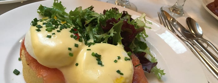Sarabeth's is one of America's 50 Best Eggs Benedict Dishes.