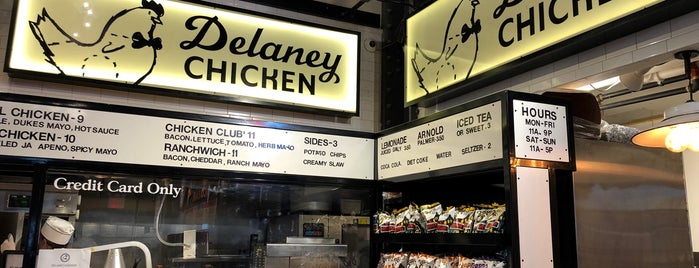 Delaney Chicken is one of Manhattan.