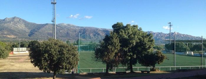 """Polideportivo """"Ciudad Deportiva Navafría"""" is one of Lugares favoritos de David."""