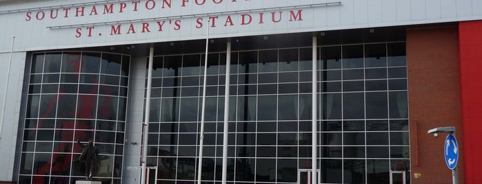 St Mary's Stadium is one of Barclays Premier League Grounds & Stadiums 2013/14.