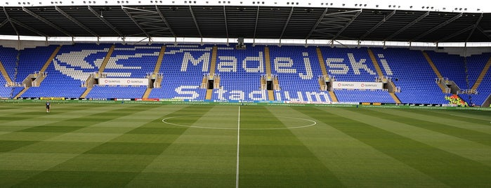 Madejski Stadium is one of Sky Bet Championship Stadiums 2015/16.