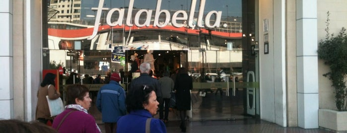 Falabella is one of santiago, chile.