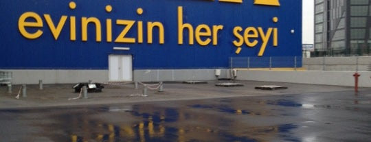 IKEA is one of Lugares favoritos de Murat.